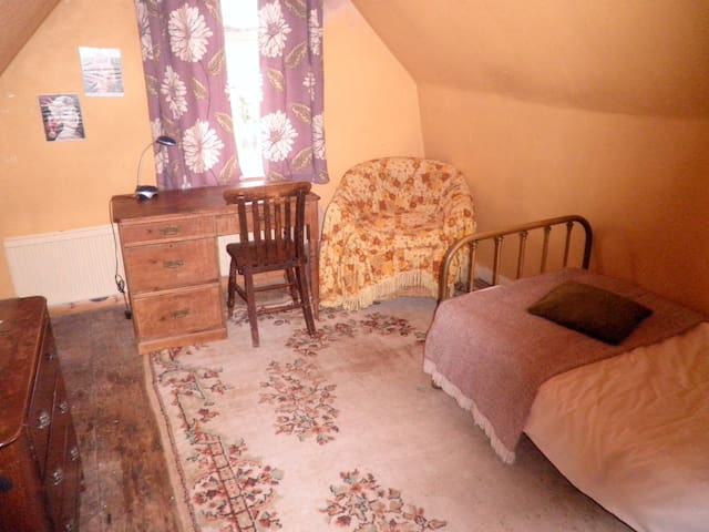 Lovely Attic room in Georgian House - Bedford - Hus