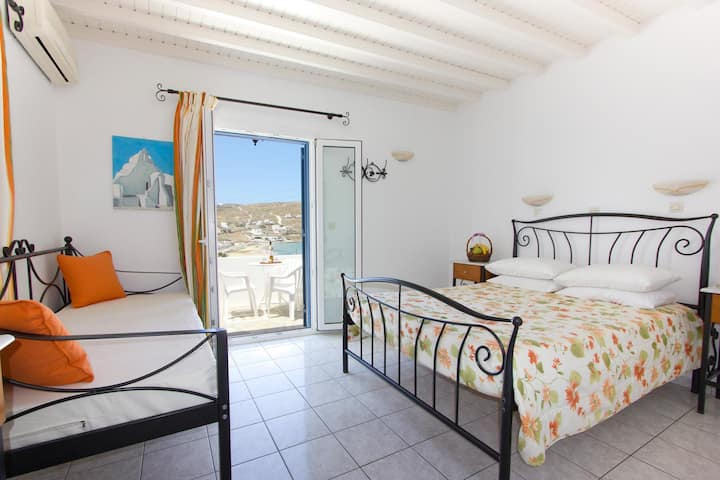 Sea View double room - Ornos