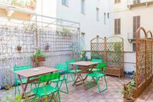 Terrazzo condiviso - Shared terrace
