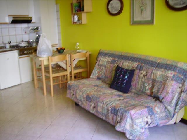 Lesa monolocale con giardino - Lesa - Apartment