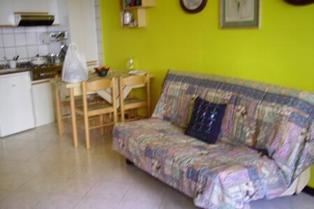 Lesa monolocale con giardino - Lesa - Appartement