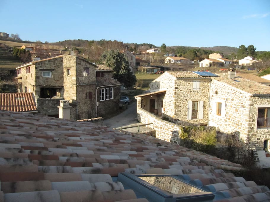 Le petit hameau de Ladreyt