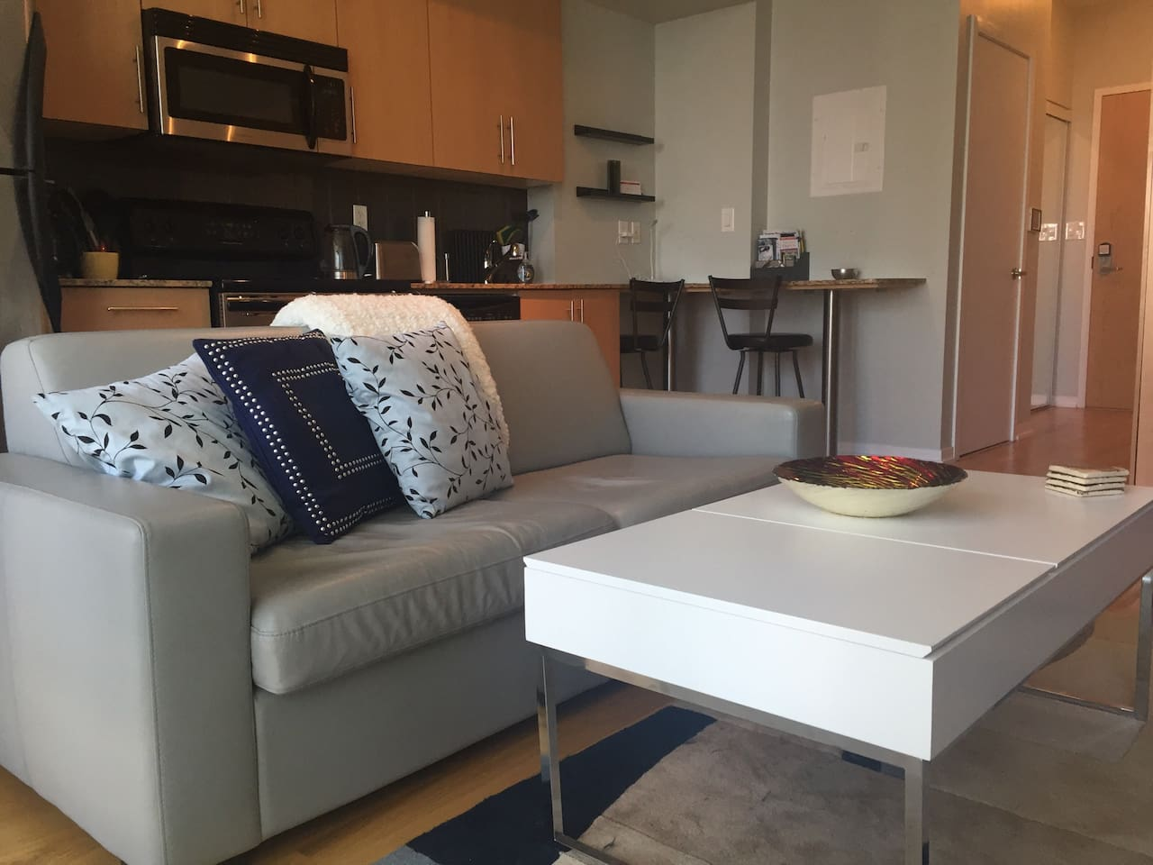 boutique chic at maple leaf square condominiums for rent in