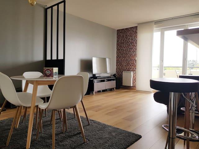 T2 50m2 Calme Moderne quartier Lardenne Toulouse