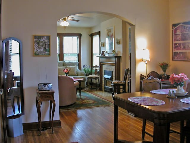 Charming 1BR Clintonville Apt (6-mo. min. rental)