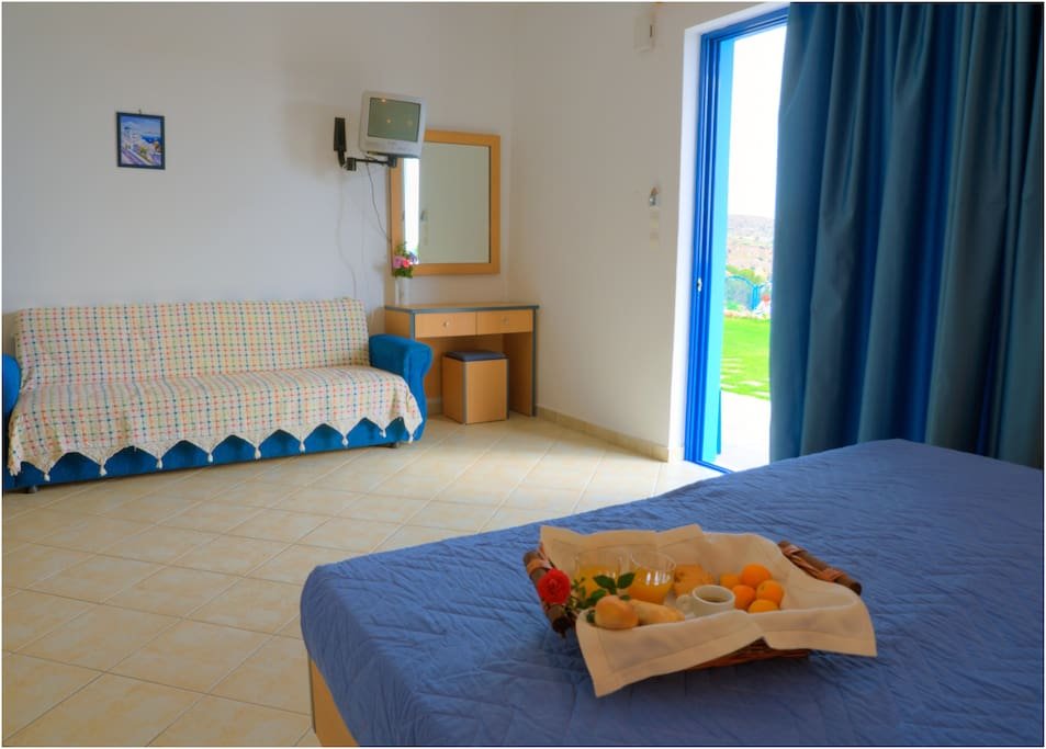 2 beds Studio, Stegna Beach
