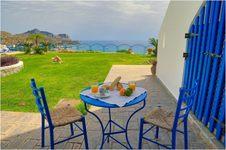 2 beds Studio, Stegna Beach - Rhodes - Bed & Breakfast