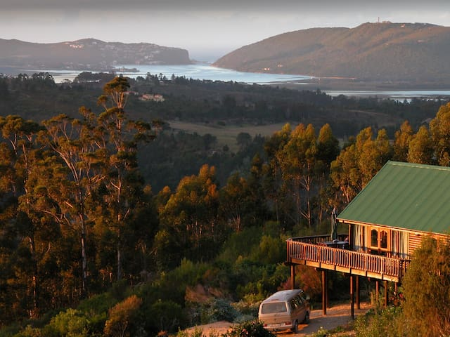 Family Log Cabin, Knysna Forest - Knysna - Casa