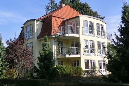 Beautiful and family-friendly maisonette Apartment with lake view 1 and sauna! One of the most beautiful parts of Bad Saarow!