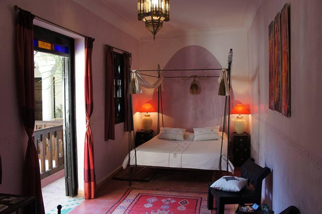 Charmante chambre dans un riad de charme guesthouses for Airbnb marrakech