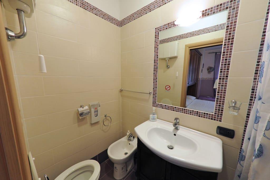 bb Civitavecchia bagno privato