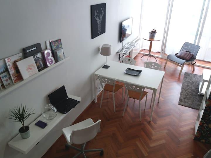 Bonito apartamento tipo Loft, ático 3º zona centro