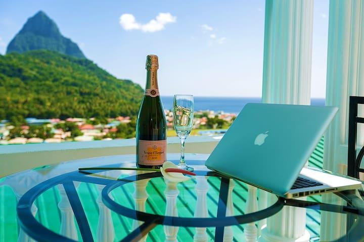 ★Sapphire 1★ $1M Piton & Ocean Views!! Woww!!