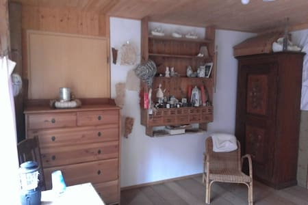Cosy Room on Farm with amazing View - Wernetshausen - Andere