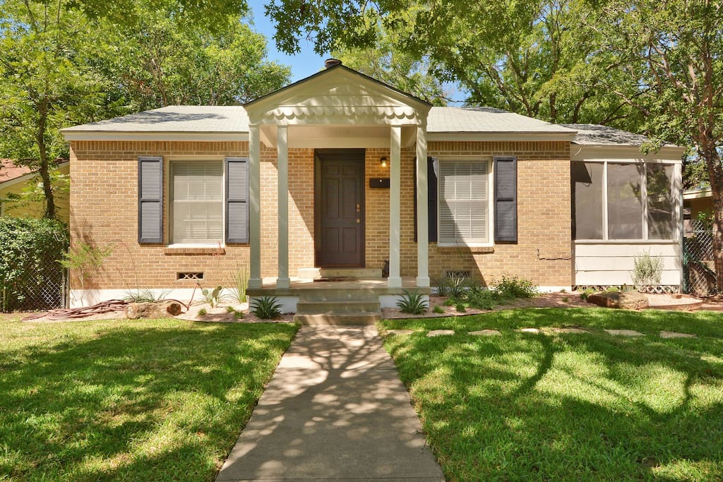 We hope you'll love staying in our Austin home!