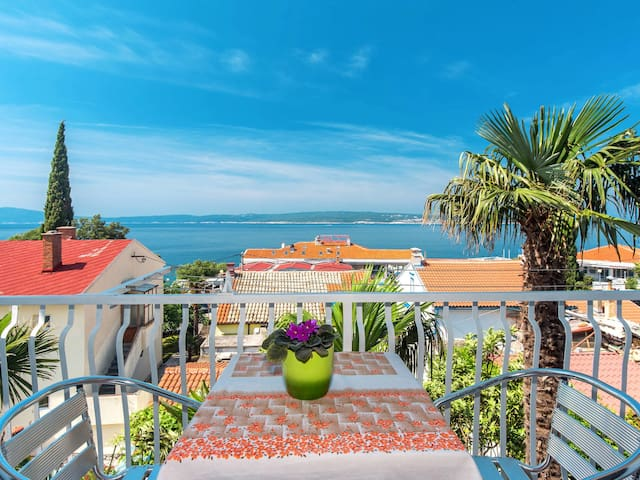 Holiday Apartment Stella for 4 persons in Selce
