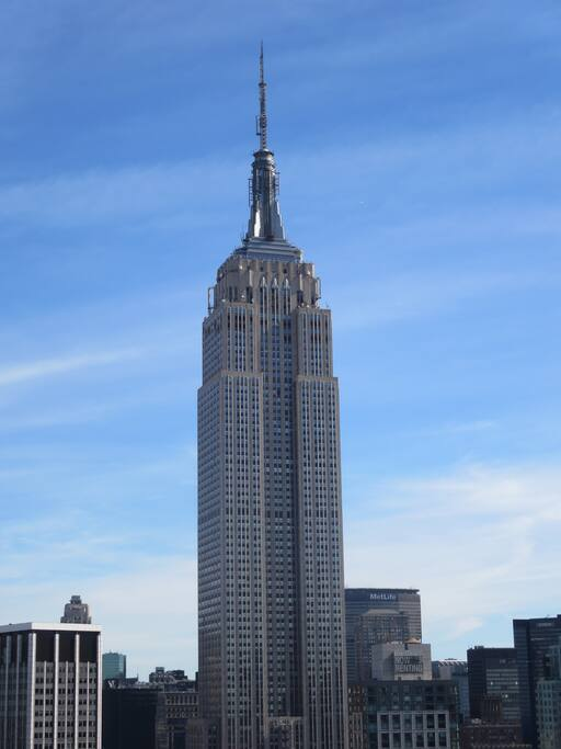 North view from Rooftop:  Empire State Building