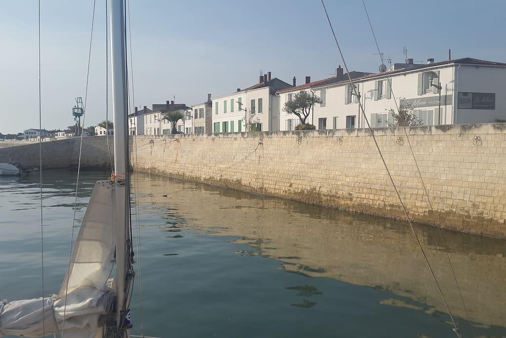 Port de Rivedoux à 2 pas de la maison
