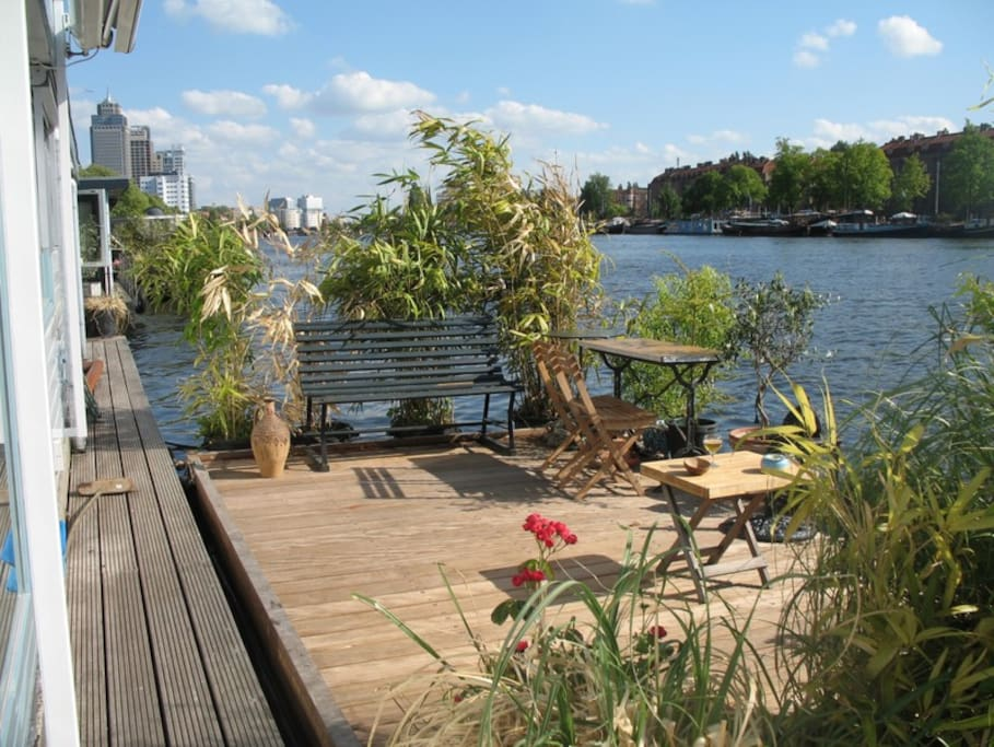 The floating terrace