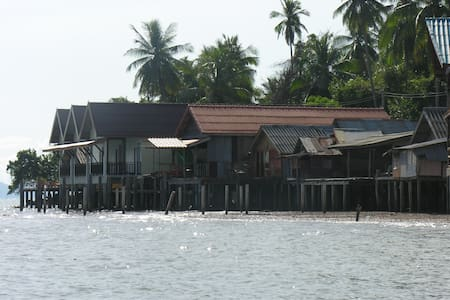 Fisherman's house over the sea  - Ko Lanta Yai