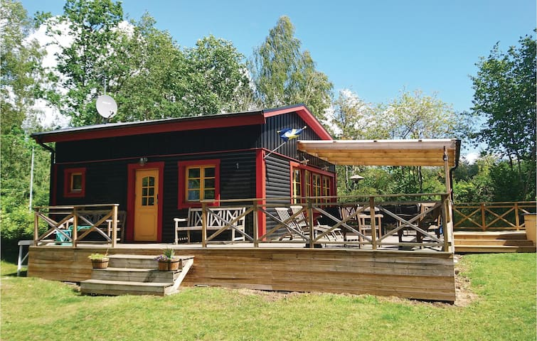 Holiday cottage with 2 bedrooms on 45m² in Fjälkinge