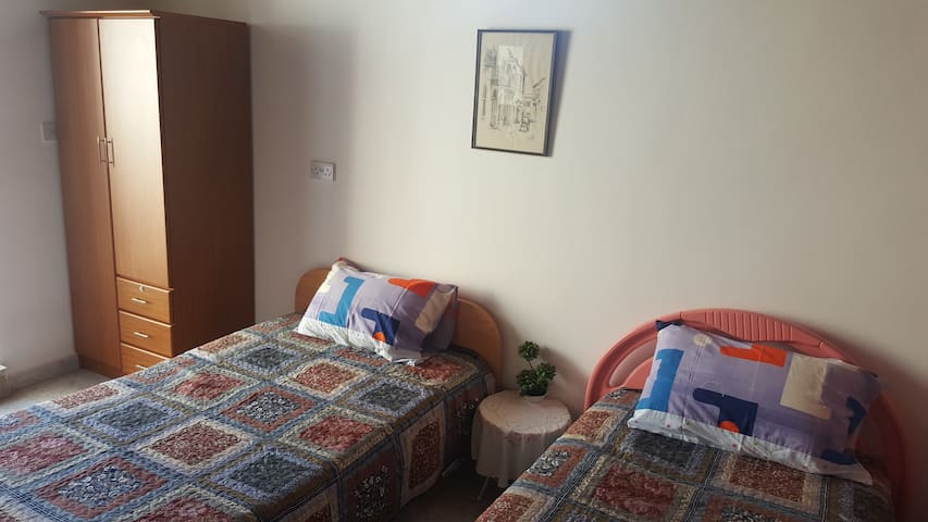 Afentra's Home - Twin Single Bedroom