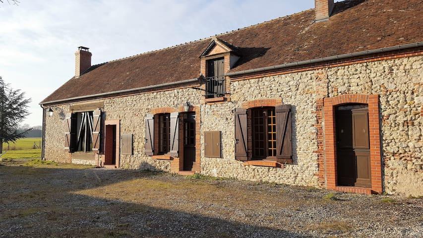 Maison de charme dans un cadre exceptionnel - Vieilles-Maisons-sur-Joudry - Rumah