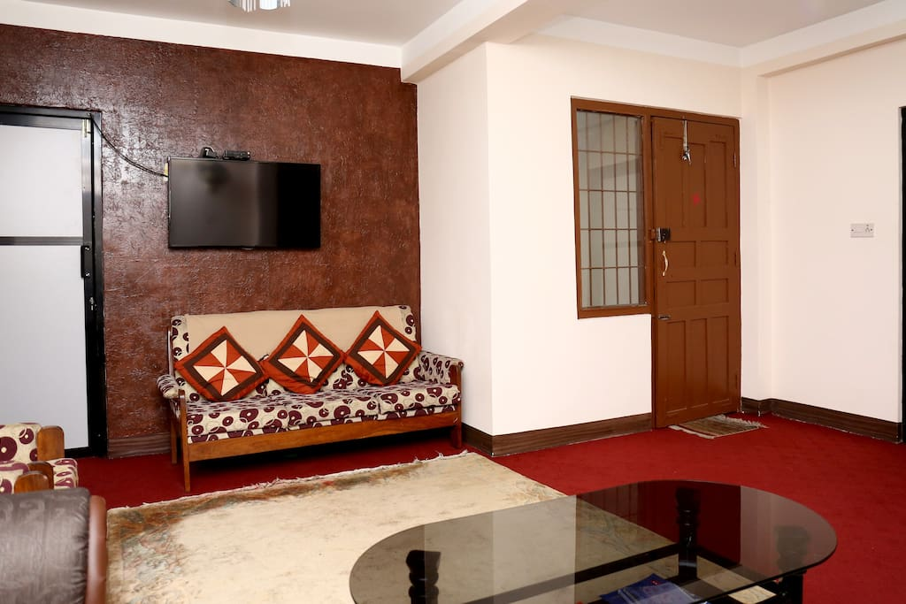Common living space view 3