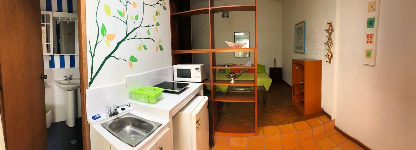 Suite acogedora en el corazón de cumbayá