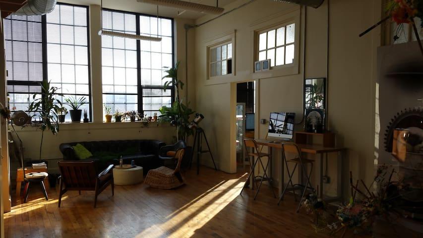 Spacious Downtown Artist Loft - Indianapolis - Wohnung