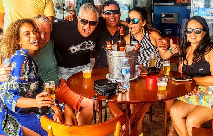 Casa p/ temporada a  5m das praia Porto Seguro -BA