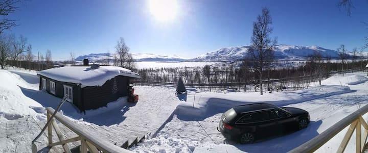 Koselig Hytte på fjellet