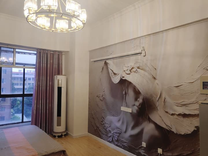 法式·香榭丽舍大街『复式loft百寸巨幕投影房』