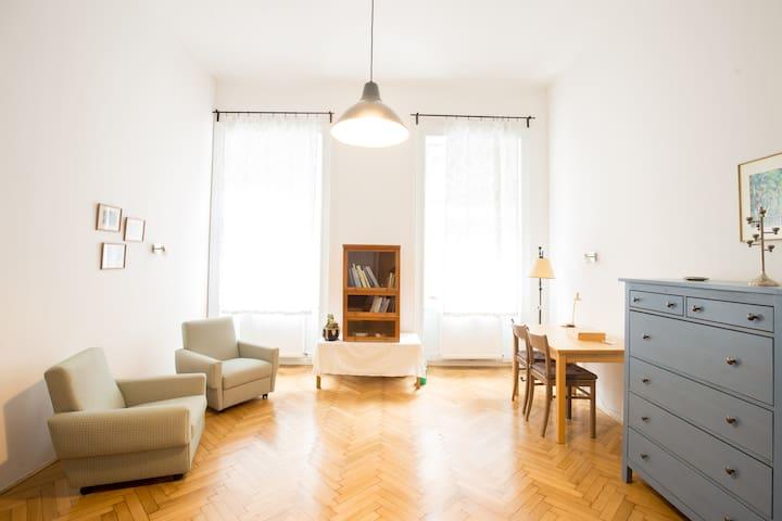 Studio Rose: Cozy Studio next to Andrassy Avenue - Budapest - Lakás