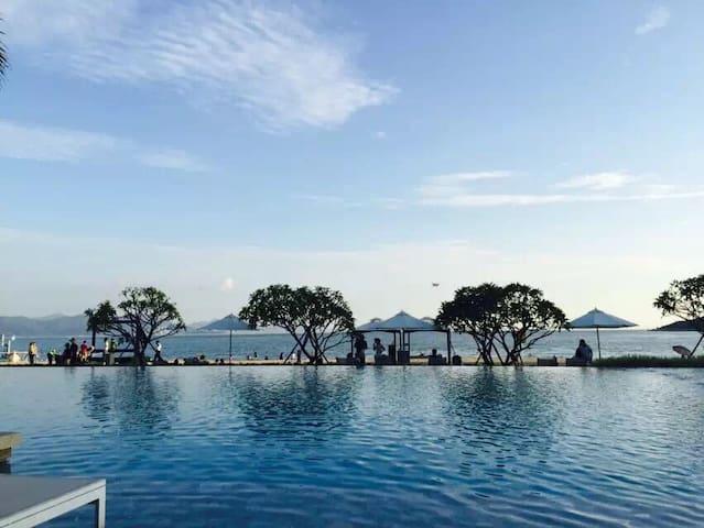 惠州小径湾稀有园景公寓,近沙滩、商业街、绿道,休闲度假之首选 - 惠州 - Apartemen