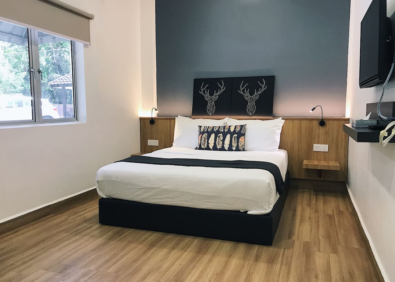 Retreat stay with Natural view- 1A(LKW)