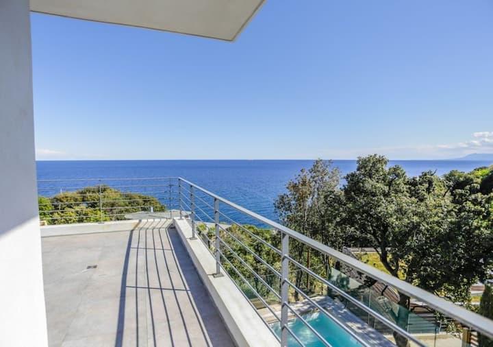 Casa Dalessio 2 - Superbe Villa Piscine Vue Mer