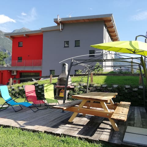 R.&M. relax appartamento, con giardino e barbecue