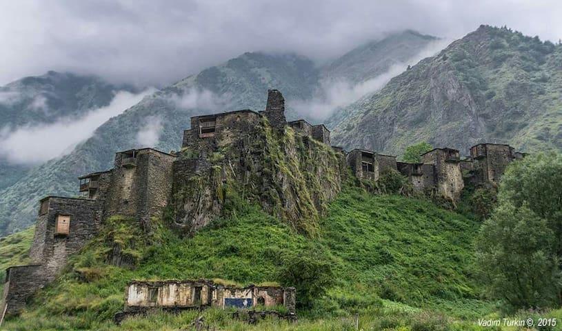 Shatili Medieval Fortress Village - Shatili