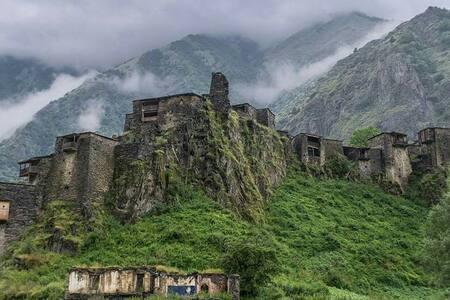 Shatili Medieval Fortress Village - Shatili - Haus