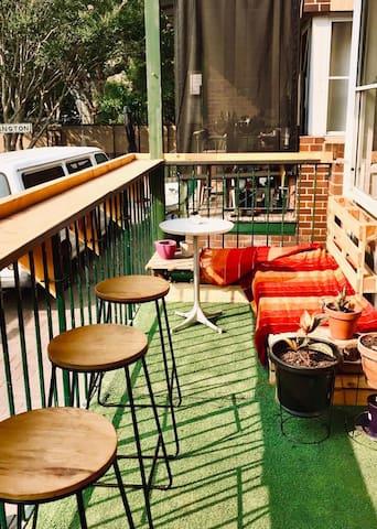 Big double room perfect located in Bondi Beach