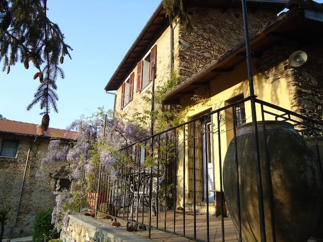 Charming country cottage in Liguria - Moano - Casa
