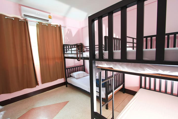 Baan Nampetch Hostel for 4 guest.