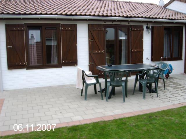 House on the Belgian coast for rent - Bredene - Ev