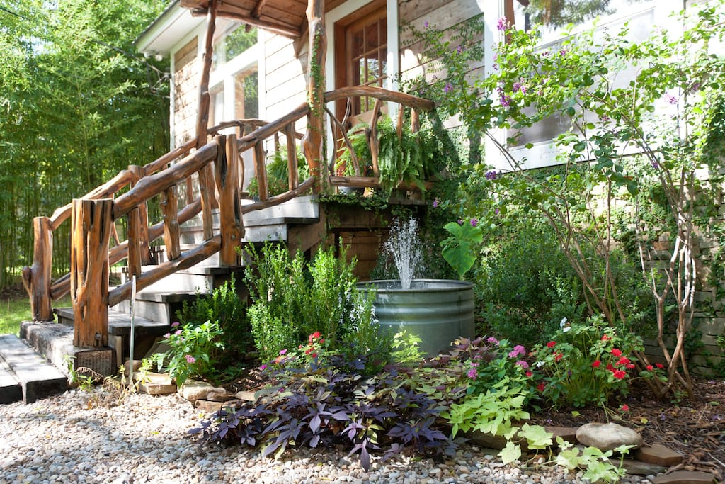 Beautiful front porch