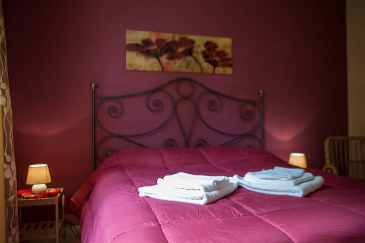 At Armando's Home ---Romantic  Red Room---