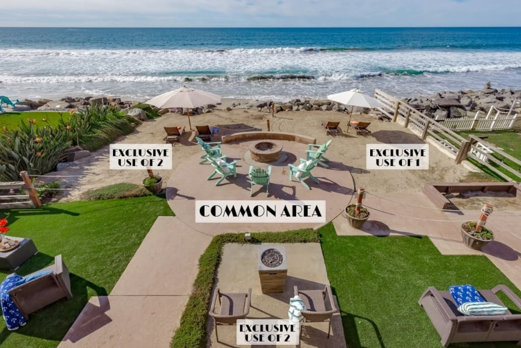 Gorgeous Beach Backyard with Unobstructed Ocean Views