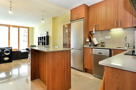 Cozy single/double room quiet zone - Barcelona - Appartement