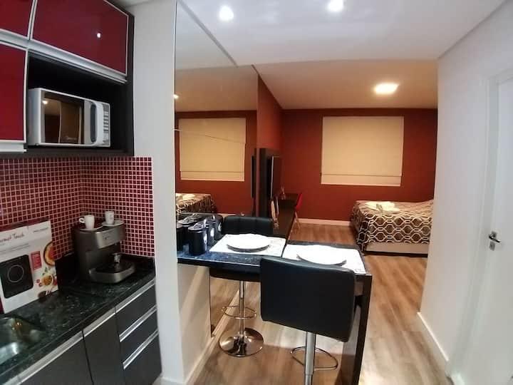 Studio Ar Condicionado - Aluguel. Bethaville I