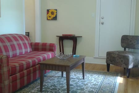 Alvin's Charming 1 bdrm apt in old Saint John